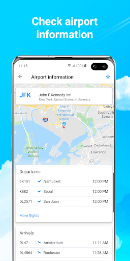 Planes Live - Flight Status Tracker & Radar  Screenshots 4