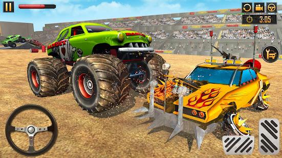 Police Demolition Derby Monster Truck Crash Games 3.3 APK screenshots 15