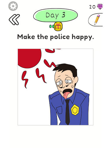 Draw Happy Police  screenshots 6