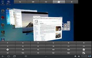 RDP Remote Desktop aFreeRDP screenshot thumbnail