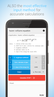 Hydraulic CALC pro Screenshot