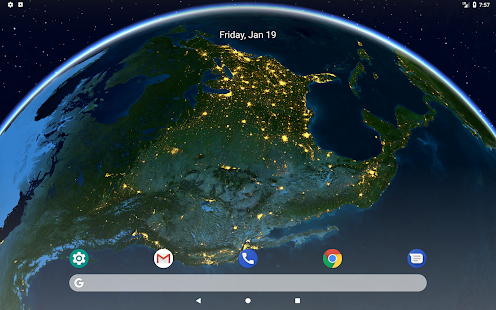 Earth 3D - Live Wallpaper