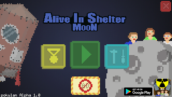 Alive In Shelter: Moon Screenshot