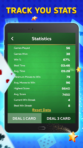 Solitaire Play u2013 Classic Klondike Patience Game screenshots 10