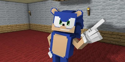 The Hedgehog Sonik Skins