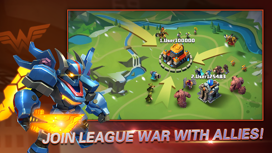 Heroes Brawl: Monster Clash - Defense Zombies 1.0.0 Screenshots 1