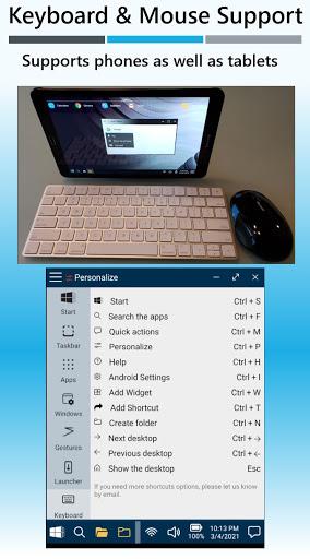 Win-X Launcher (No ads) Apkfinish screenshots 5