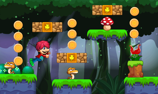 victo's world - jungle adventure - super world screenshot 2