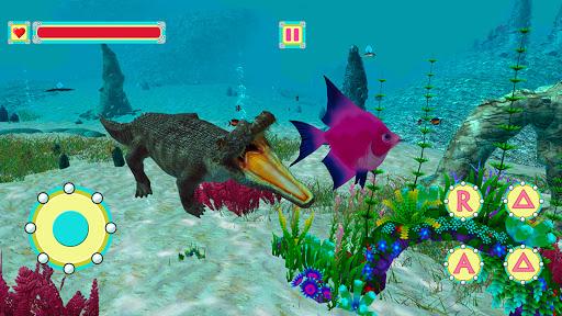 Underwater Crocodile Simulator u2013 Crocodile Games 1.3 screenshots 7