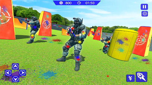 Paintball Gun Strike - Paintball Shooting Game 3 screenshots 3