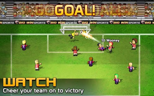 BIG WIN Soccer: World Football 18 Screenshot