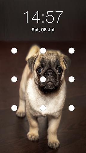 puppy dog pattern lock screen screenshot 3