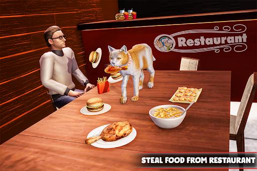 Cat Family Simulator: Stray Cute Kitty Game apktreat screenshots 1