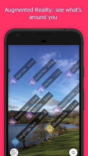 OS Maps: Explore hiking trails & walking routes  screenshots 3