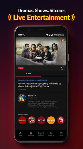 Jazz TV: Watch PSL 6, News, Turkish Dramas, Sports  Screenshots 6