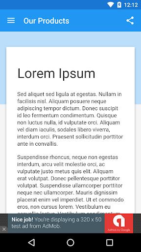 WebView App 2.7.0 Screenshots 2