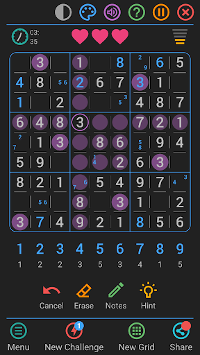 Free Sudoku Game apkpoly screenshots 6