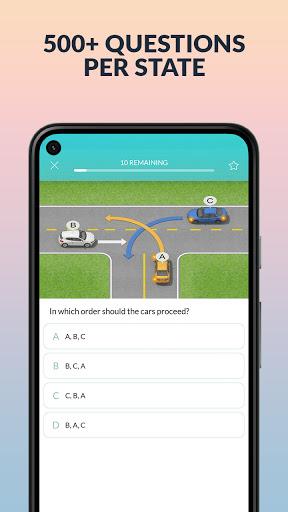 DMV Practice Test by Zutobi apktram screenshots 2