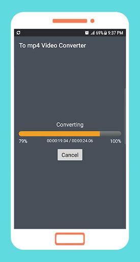 To mp4 3gp webm Video Converter app apktram screenshots 22