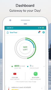 YourHour - Phone Addiction Tracker & Controller 2.0.6 (Mod-Extra)