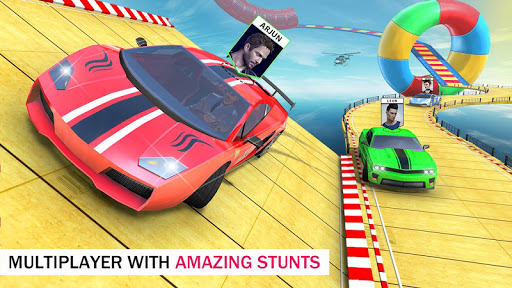 Ramp Car Stunts Free - Multiplayer Car Games 2021 4.1 Screenshots 2