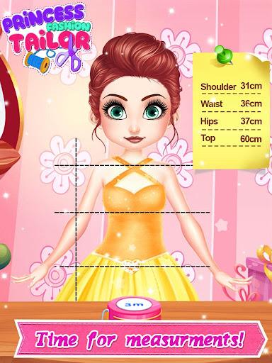 Tailor Fashion Games: ud83dudc78 Princess Clothing Design 1.3 screenshots 8