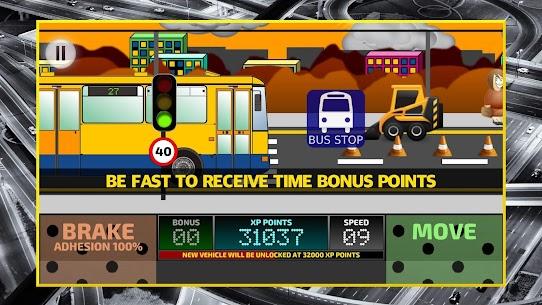 City Bus Driving Simulator 2D – coach driver sim Apk Download 3