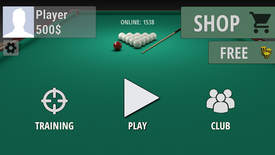 Russian Billiard Pool Screenshot
