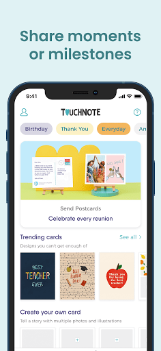 TouchNote: Card Maker - Postcards & Greeting Cards  screenshots 3