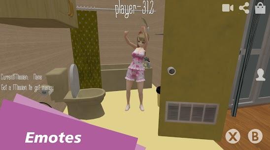 Waifu Simulator Multiplayer MOD (Unlimited Money) 3