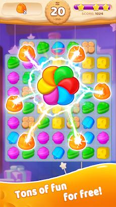 Sweet Crunch - Match 3 Gamesのおすすめ画像2