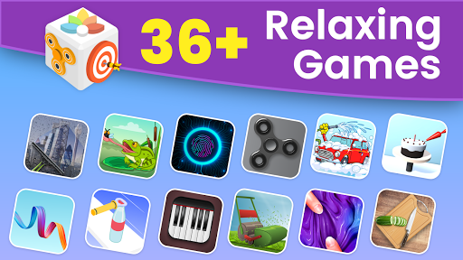 AntiStress, Relaxing, Anxiety & Stress Relief Game modiapk screenshots 1