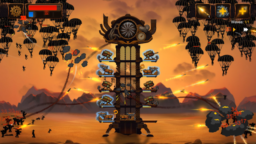 Steampunk Tower 2: The One Tower Defense Strategy screenshots 7