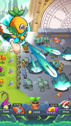 Plant Empires - Zombie War, Merge Defense Monster  screenshots 9