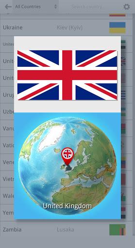 Code Triche Drapeaux sur le globe (Astuce) APK MOD screenshots 6