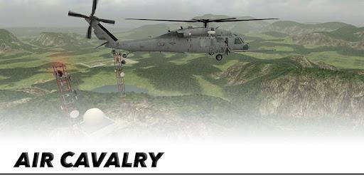 Screenshot of Helicopter Sim Flight Simulator Air Cavalry Pilot