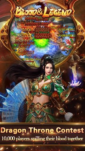 Blood & Legend:Dragon King hero mobile online game Apkfinish screenshots 5