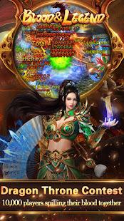 Blood & Legend:Dragon King hero mobile online game