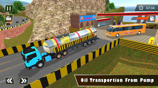 Indian Oil Tanker Cargo Truck Game apkpoly screenshots 15