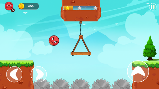 Angry Ball Adventure - Friends Rescue  screenshots 1