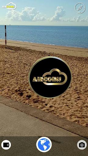 Aircoins Augmented Reality Treasure Hunt 1.20 screenshots 1