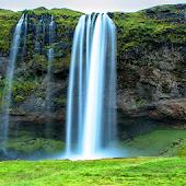 icono Caída de agua Fondo Animado