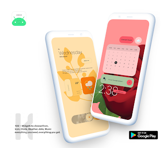 Android 12 Widget Pack for KWGT APK [PAID] Download 4