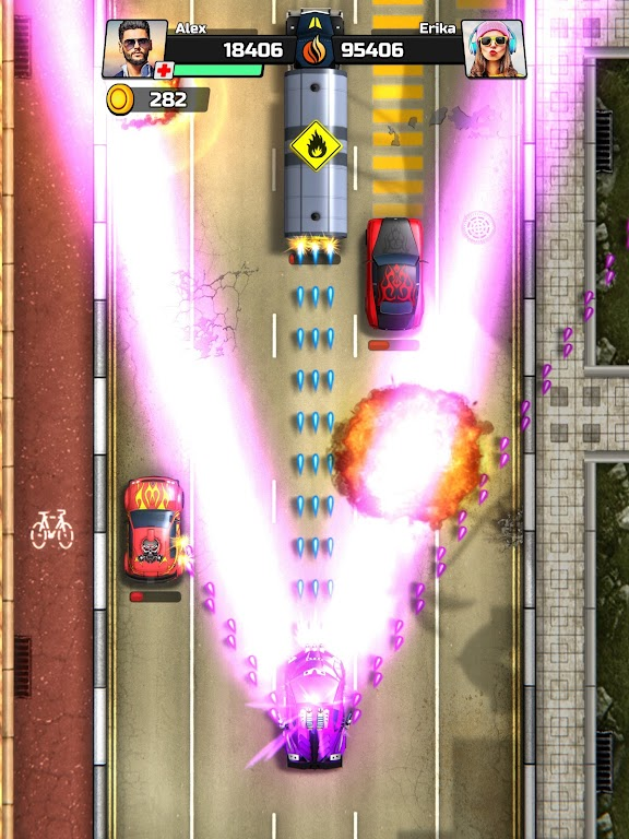 Chaos Road: Combat Racing poster 13