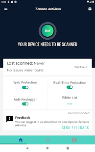 Zemana Antivirus & Security Screenshot