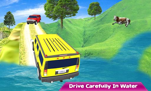 Crazy Taxi Jeep Drive: Jeep Driving Games 2020 apkslow screenshots 6