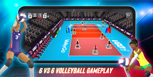 Volleyball: VolleyGo apkslow screenshots 2