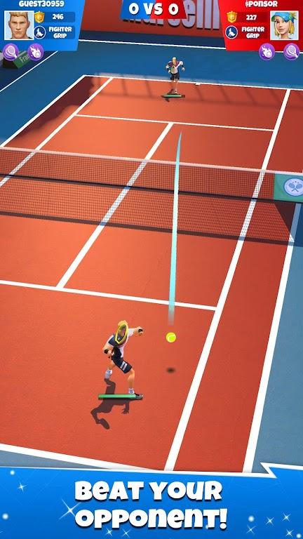 Tennis Go: World Tour 3D  poster 15