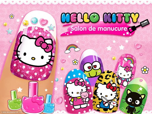 Salon de manucure Hello Kitty APK MOD (Astuce) screenshots 6