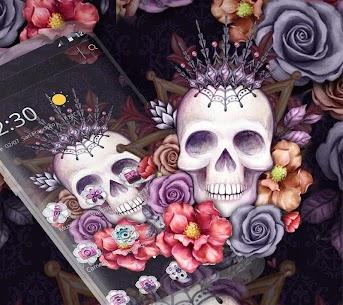 Colorful Flower Skull Fancy Theme 1.1.4 Mod APK (Unlimited) 1